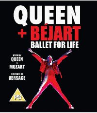 Cover Queen + Béjart - Ballet For Life [DVD]